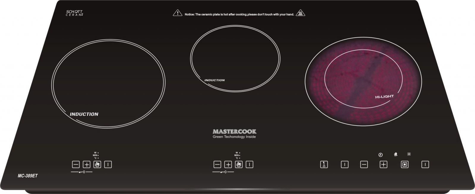 Bếp điện từ Mastercook MC 389ET